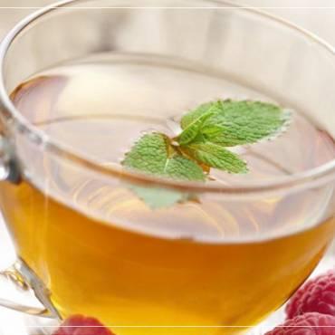 Aromática de toronjil, manzana y miel